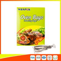 Quality Household Foldable Oven Cooking Bags / Oven Roasting Bags For Chicken 35*43CM for sale
