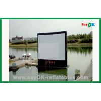 Quality Inflatable Movie Screen In Water L4m xH3m Inflatable TV Screen for sale