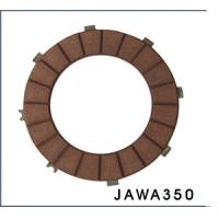 China Low wear perfoemance motorcycle clutch parts plates kits with 8 teeth JAWA350 for sale