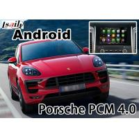 Buy cheap Porsche Macan PCM 3.1 4.0 Android Auto Interface WIFI BT HD 1080P Google MAP cast screen from wholesalers