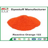 Quality Orange 122 Reactive Dyes Cotton Fabric Dye Powder Textile Dyestuffs for sale