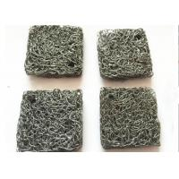Buy cheap Custom 304 Stainless Steel Knitted mesh Airbag Filter , Compressed Knitted Wire Mesh from wholesalers