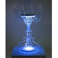 Buy CH (2) acrylic pillar candle holder at wholesale prices