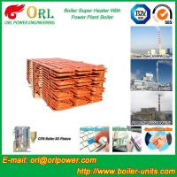 Buy Boiler Steam Superheaters Steel , Separately Fired Superheater Once Through at wholesale prices