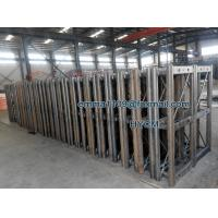 OEM GJJ Building Elevator Mast Sections with Racks and Bolts for sale