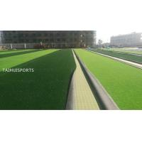 Buy PE Closed-Cell Foam Water Proof Double-Sided Grooved Artificial Turf Shock Pad Underlay  Pad For Various Sports Fields at wholesale prices