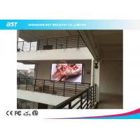 Quality IP65 P6 High Resolution Outdoor Advertising LED Display 27777 Pixel / Sqm for sale