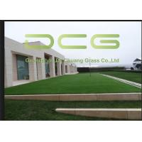 Quality Dedicated Courtyard Commercial Artificial Grass Carpet 25 M Roll Length for sale