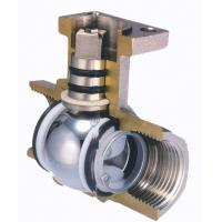 Floating Two Piece Ball Valve DIN / BS / ANS I/ JIS / API / ASME For Oil And Gas for sale