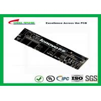 Quality Black Communication PCB 8 Layer Rigid Circuit Board FR4 1.6mm for sale