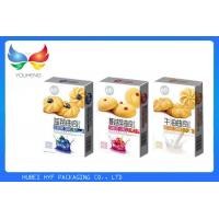 Quality Promotional Paper Christmas Cookie Gift Boxes , Takeaway Biscuit Packaging Boxes for sale