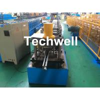Quality Guide Rail Roll Forming Machine For Making Elevator , Doorframe , Window Frame As Well As Other Sliding System Devices for sale