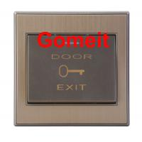 Quality Stainless Steel Push To Exit Button 500000 Cycles Tests , Magnetic Door Lock Push Button for sale
