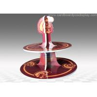 Buy Glossy Lamination Serviceable 2 Tiers Cupcake Stands Trees for store at wholesale prices