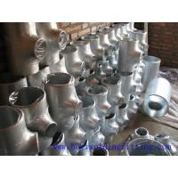 Quality Gas hardware Seamless Stainless Steel Tee A815 UnsS32750 W1.4462 for sale