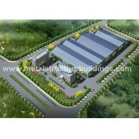 China A36 A572 Metal Steel Structure Warehouse Energy Saving For Food Factory for sale