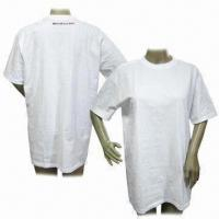 Quality Compressed T-shirt, Made of 100% Cotton for sale