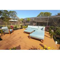 Quality Durable and Cheap Plastic Wood WPC Composite Hollow and Solid Outdoor Decking Brown for sale