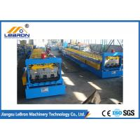 China 380V 50Hz Blue Metal Deck Roll Forming Machine 8-10m/min High Working Speed on sale