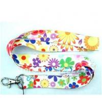 Quality High quality sublimated lanyard with badge holder for sale