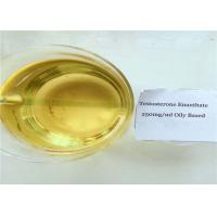 China Testosterone Enanthate 250mg/ml Injectable Yellow Oil on sale