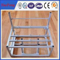 Quality custom aluminum extrusion computer cases, china aluminum frame for natural anodized for sale
