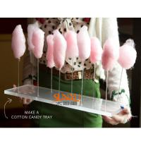 Buy Thick Acrylic Countertop Food Display Transparent For Pretty Cotton Candy at wholesale prices