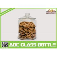 Quality High quality biscuit glass jar with easy open end for sale