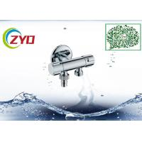 Buy cheap 2WAY T-adapter Brass Nickle Brushed Handheld Water Flow Adjustable Shower Faucet from wholesalers