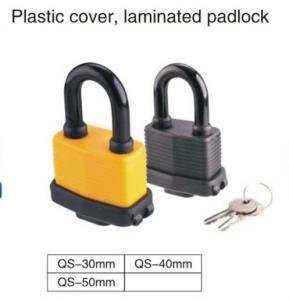 Quality Waterproof Laminated High Security Padlock / Long Shackle Padlock for sale