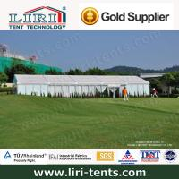 200 People Wedding Tent 10*25m With Solid Glass Wall for sale