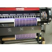 Buy cheap 1.8m Eco Solvent Printing Machine With XP600 head For 4 Colors Or 6 Colors At 2160 Dpi from wholesalers