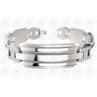 Quality Stylish Stainless Steel Bracelets With Chain , Silver Bracelets For Women for sale