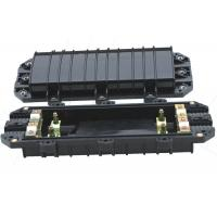 Quality Black FTTH Fiber Optic Enclosure CPJ(04)-3 Cable Diameter Ф10~Ф22 For Duct / Aerial for sale