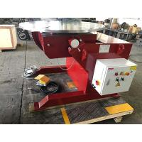 Buy cheap Rotary And Titling Piping Welding Positioner Speed Digital Readout Via Hand Box from wholesalers