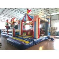 Quality Inflatable circus clown fun city new design inflatable clown multiplay fun park on sale for sale