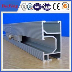 Quality high efficiency10000w solar panel mounting aluminum rail, Solar Module Mounting Rail for sale