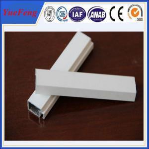 Quality decorative powder coating aluminum door profiles, supply aluminum building extrusion for sale