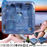 Quality Popular 5 person whirlpool massage bathtub with changeable massage neck collar for sale
