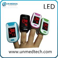 Buy Factory cheap price LED display fingertip pulse oximeter with different color at wholesale prices