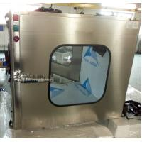 China Food Industrial Cleanroom: Wall Mounted Clean Static Pass Box on sale