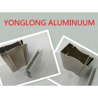 Quality Electrophoresis Wooden Colour Aluminum Window Frame Profile Corrosion Resistance for sale