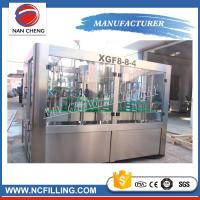Quality 3 In 1 Automatic Water Bottle Filling Machine , Water Bottling Equipment Beverage Packaging for sale