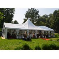 Long Life Span Big Clear Span Aluminum Frame White PVC Cover Removeble for sale
