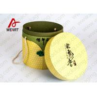 Quality Festival Used Lidded Cardboard Storage Boxes For Food Environment Friendly Material for sale