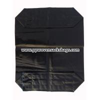 Quality Black PE Plastic Valve Sealed Bags for Packing Activated Carbon / 25kg Valve PE Sacks for sale