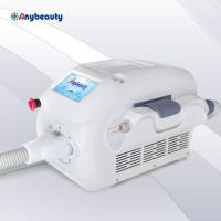 Quality pure white mini q switched nd yag laser tattoo removal laser beauty machine with 1064nm 532nm and 1320nm for sale