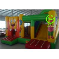 Quality 2016 hot sell Spongebob  inflatable bounce house with 24months warranty from GREAT TOYS for sale