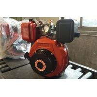 Quality 8.2kw Single Cylinder Diesel Engine Anticlockwise Face To Output Axle Rotation Direction for sale