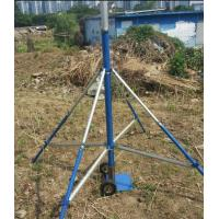Quality 6--10m push-up mast  telescopic antenna mast and lightweight antenna mast with tripod stand for sale